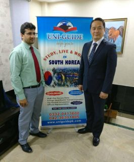 South Korea Officials visit to UNI-GUIDE