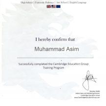 MUHAMMAH ASIM