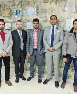 University of Law UK visit to UNI-GUIDE