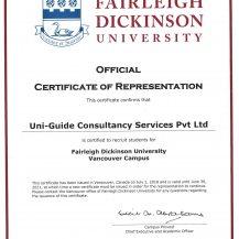 FDI Certificate