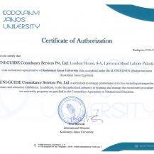 KJU Certificate