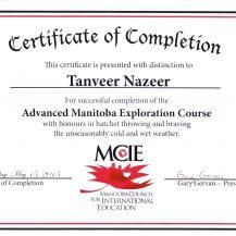 MCIE Certificate