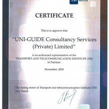 TSI Certificate
