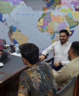 Mr Ali Nasir visited